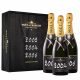 Moet & Chandon Grand Vintage Champagne Black Case 02 04 & 06 75cl