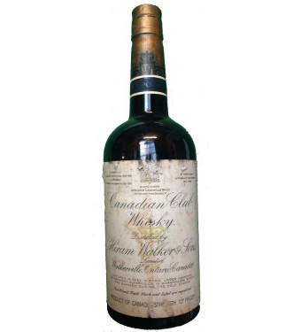 Canadian Club Whiskey Bottled 1930 / Driven Cork