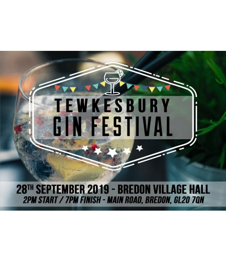 Tewkesbury Gin Festival 28th September 2019