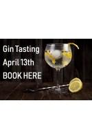 Tasting Gin the 13th April