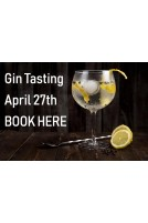Tasting Gin the 27th April