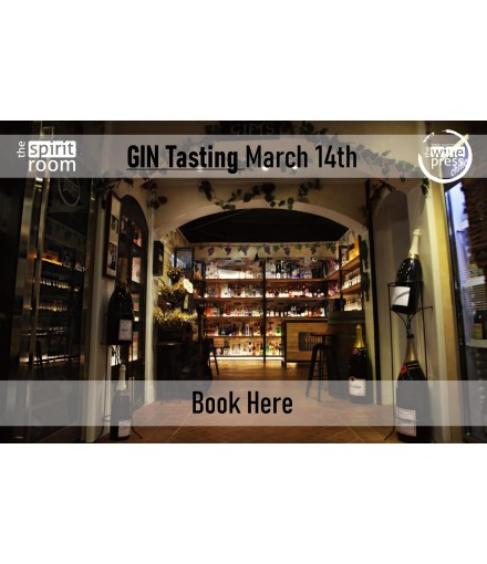 Tasting Gin 14th March