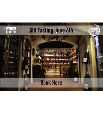 Tasting Gin 6th June
