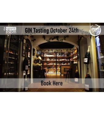 Tasting Gin 24th October