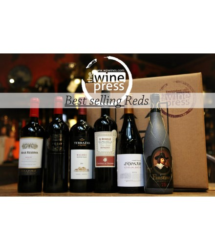 Six Bottle Mixed Case - Best Selling Reds