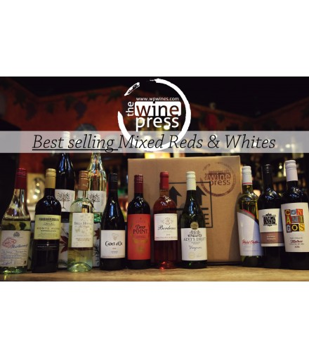 Twelve Bottle Mixed Case - Best Selling Red & White
