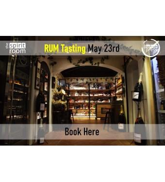 Tasting Rum 23rd May