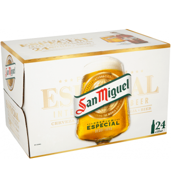 San Miguel Especial 24 x 300ml Collection Only