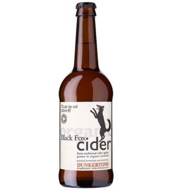 Dunkerton's Black Fox Organic Cider 12 x 500ml
