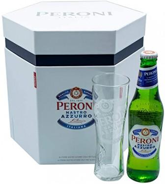 Peroni Nastro Azzurro Gift Box - Collection Only