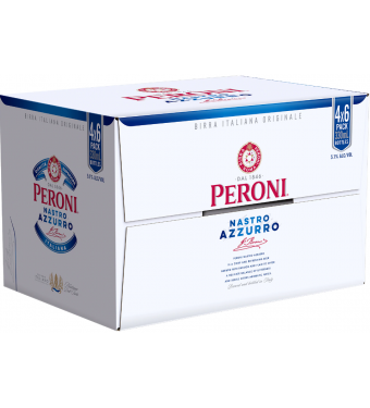Peroni Nastro Azzurro 24x330ml Collection Only