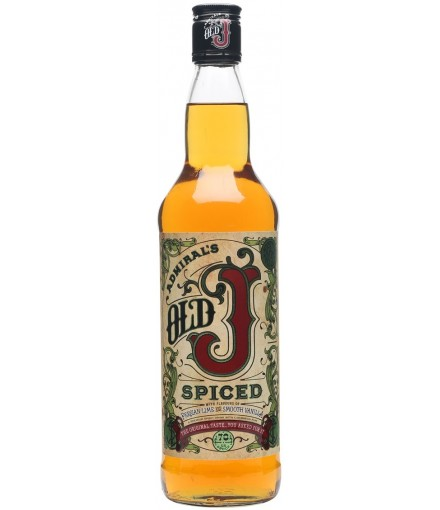 Admiral's Old J Spiced Rum