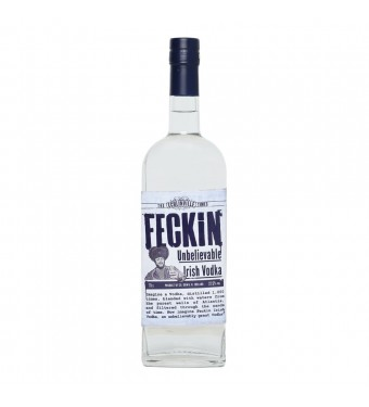Feckin Unbelievable Irish Vodka