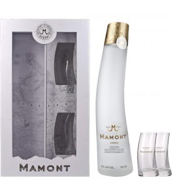 Mamont Vodka & Glasses Gift Pack