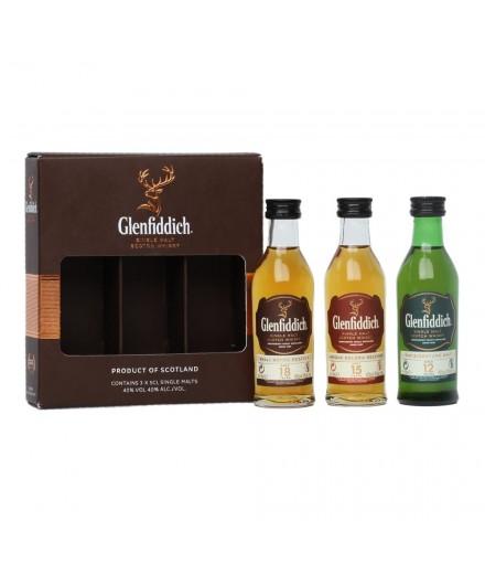 Glenfiddich Miniature Variety Pack