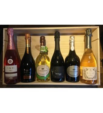 Six Bottle Mixed Case - Beautiful Bubbles