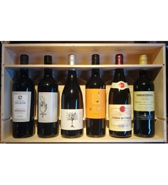 Six Bottle Mixed Case - Classic Reds