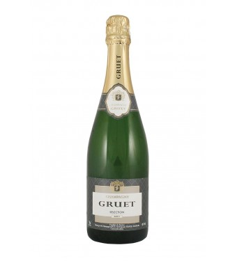 Gruet Brut Champagne Half Bottle 37.5cl