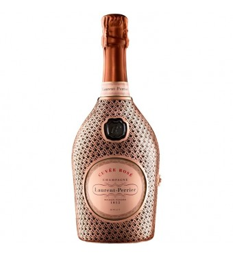 Laurent Perrier Rose Champagne NV in Metal Robe