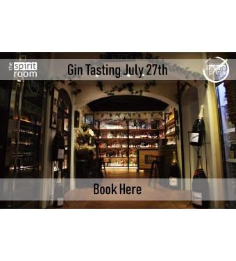 Tasting Gin 27th July