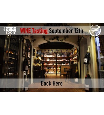 Tasting Wine 12th September