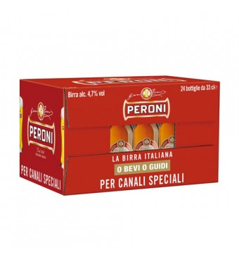 Peroni Red 24x330ml Collection Only