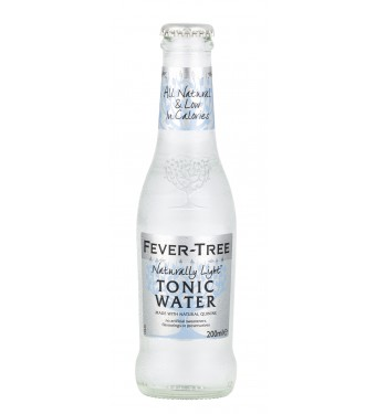 Fever Tree Naturally Light Indian Tonic Water (24 x 200ml)