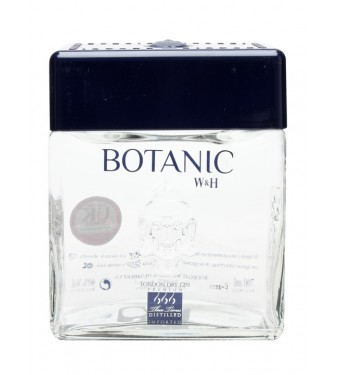 W&H Botanic Premium London Dry Gin 70cl