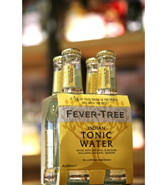 Fever Tree Indian Tonic Water (4 x 200ml)