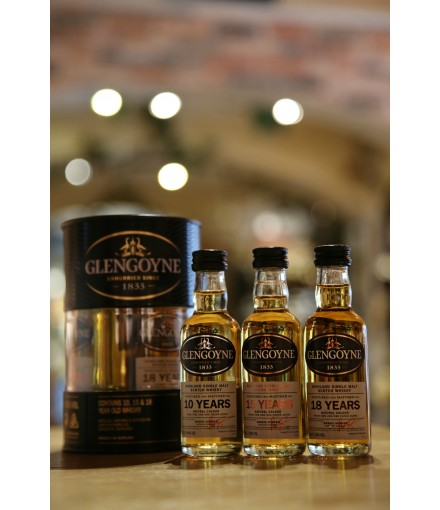 Glengoyne Miniature Variety Pack