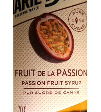 Marie Brizard Passion Fruit Syrup