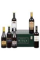Premium Rioja Wine Selection in Wooden Gift Box, 6 x 75cl